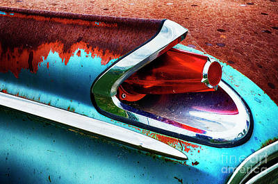 Wrecked Cars Photograph - Down In The Dumps 16 by Bob Christopher