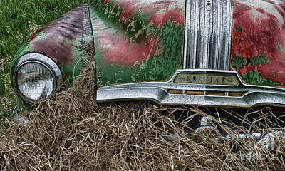 Wrecked Cars Photograph - Down In The Dumps 19 by Bob Christopher