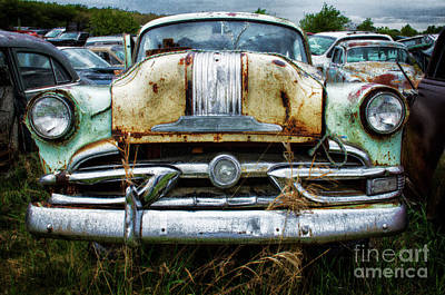 Wrecked Cars Photograph - Down In The Dumps 2 by Bob Christopher