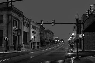 Down On Mainstreet Print by Tim Wilson