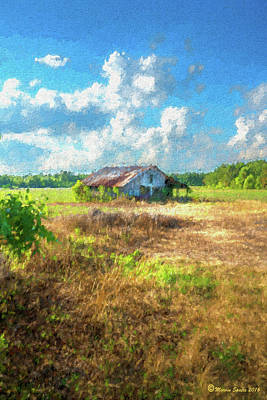 Down On The Farm Print by Marvin Spates