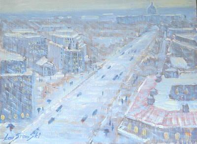 Washington D.c Painting - Down Pennsylvania Avenue by Len Stomski