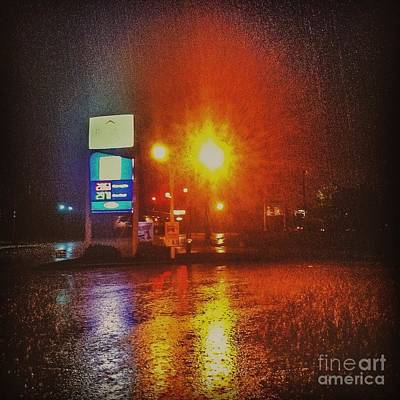 New England Photograph - Down Pour by Victory  Designs