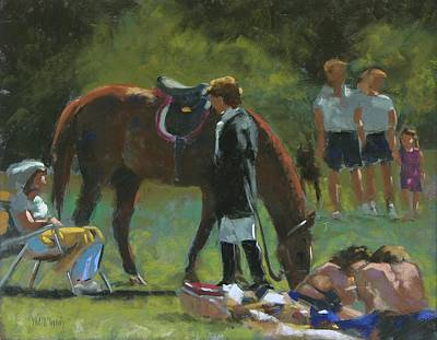 Down Time Print by Mary McInnis