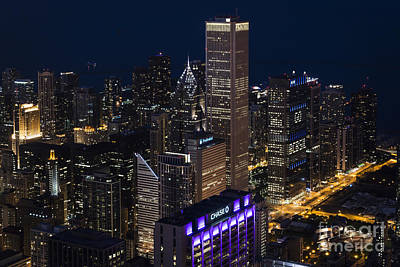 Downtown Chicago Print by Andrea Silies