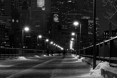 Minneapolis Skyline Photograph - Downtown by Edward Congdon