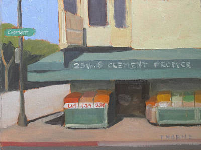 Downtown Market Original by Marcus Thorne
