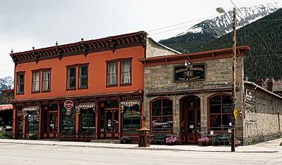 Downtown Silverton Colorado Print by Mountain Dreams