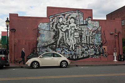 Downtown Winston Salem Series Vi Original by Suzanne Gaff