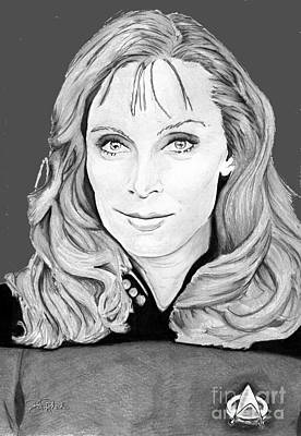 Dr. Beverly Crusher Print by Bill Richards