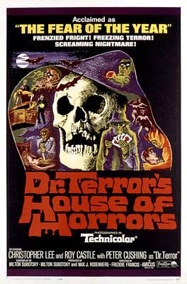Postv Photograph - Dr. Terrors House Of Horrors, Poster by Everett