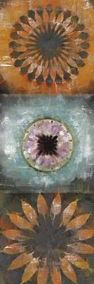 Merging Painting - Draftman Mental Picture Flowers  Id 16165-122228-37010 by S Lurk