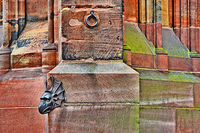 Dragon Head. Strasbourg Cathedral. Print by Andy Za