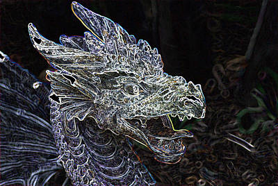 Spacious New Home Digital Art - Dragon Lair by Don  Wright