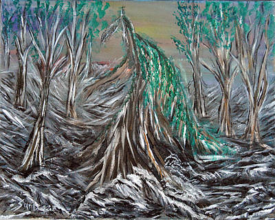 Painting - Dragon Tree by Suzanne Surber