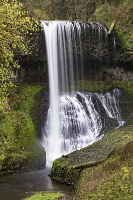State Parks In Oregon Photograph - Drake Falls In Silver Falls State Park by John McGraw