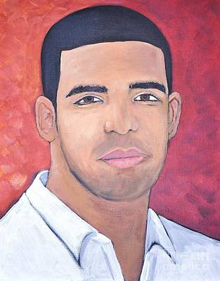 Degrassi Painting - Drake by Reb Frost