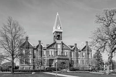 Drake University Old Main Print by University Icons