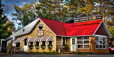 Drake Photograph - Drake's Inn In The Adirondack's by David Patterson