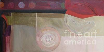 Abstract Photograph - Drama Too Diptych 2 by Marlene Burns