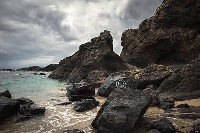 Porto Photograph - Dramatic Rockscape by Chris Fletcher