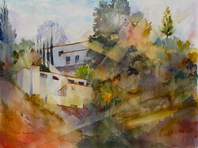 Ressler Painting - Drat...there Goes The Light Again by John Ressler