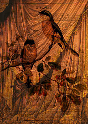 Digital Art - Draw Back The Curtain by Sarah Vernon