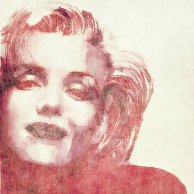 Lips Digital Art - Dream A Little Dream Of Me by Paul Lovering