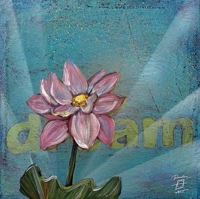 Painting - Dream Lotus by Andrea LaHue