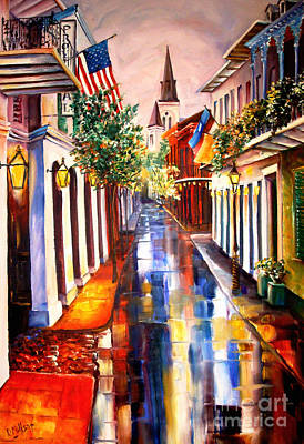 Impressionistic Landscape Painting - Dream Of New Orleans by Diane Millsap