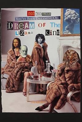 Tut Mixed Media - Dream Of The Lizard King  by David Peniston
