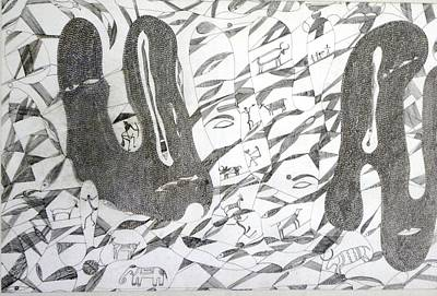 Gond Painting - Dream by Rajendra Yadav
