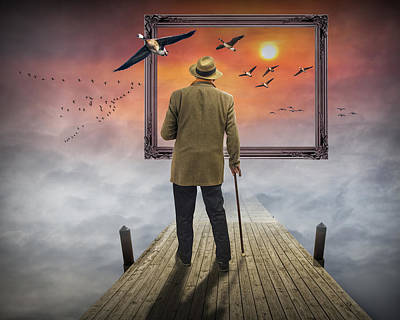 Surrealist Photograph - Dream So Real by Randall Nyhof