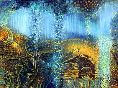 Dream Spinner Print by Lolita Bronzini
