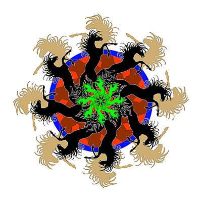 Pinwheels Drawing - Dreamcatcher by Caroline Czelatko