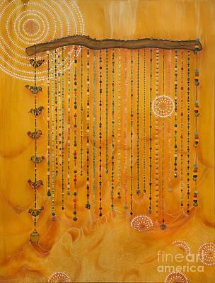 Dreamcatcher Painting - Dreamcatcher by Deborha Kerr