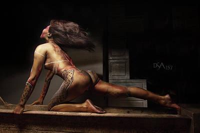 Bodypaint Photograph - Dreamcatcher Ix by David April
