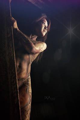 Bodypaint Photograph - Dreamcatcher Vi by David April
