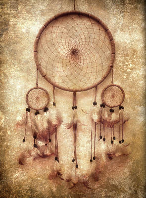 Native American Photograph - Dreamcatcher by Wim Lanclus