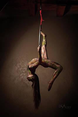Bodypaint Photograph - Dreamcatcher X by David April