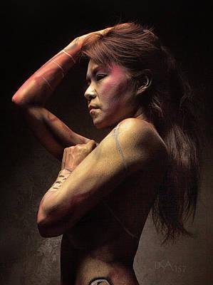 Bodypaint Photograph - Dreamcatcher Xii by David April