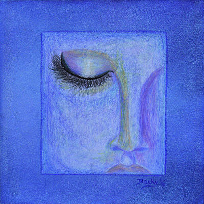 Color Pencil Mixed Media - Dreaming In Whispers by Donna Blackhall