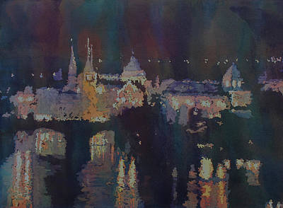Slavic Painting - Dreaming Of Prague by Jenny Armitage