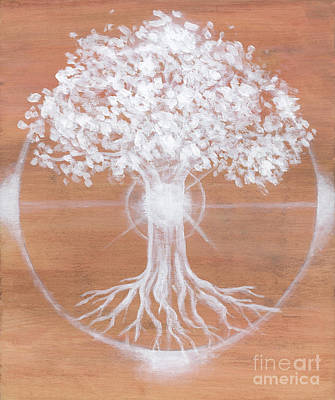 Yggdrasil Painting - Dreaming Of Sundogs by Brandy Woods
