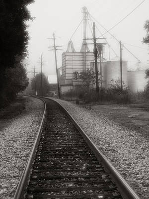 Dreaming Of Trains Gone By Print by Steven Ainsworth