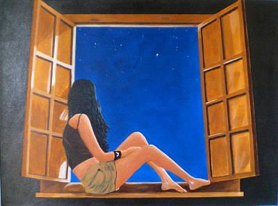 Dreaming Print by Richard Casserino
