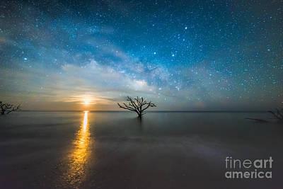Moon Photograph - Dreaming by Robert Loe