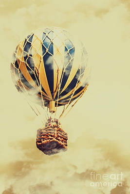 Hot Air Photograph - Dreams And Clouds by Jorgo Photography - Wall Art Gallery