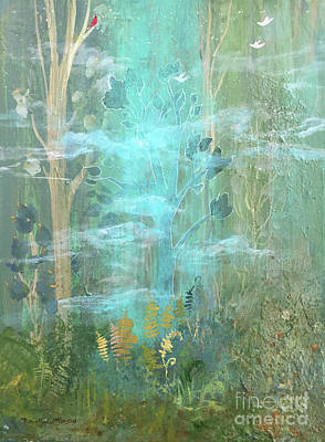 Painting - Dreams In The Mist  by Robin Maria Pedrero