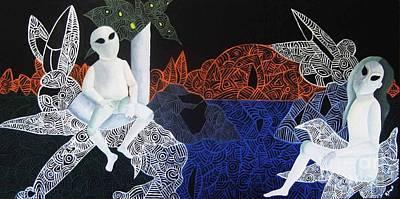 Dreams Of Broken Dolls Original by Reb Frost